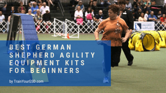 best german shepherd agility equipment kits