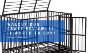 walcut dog crate review