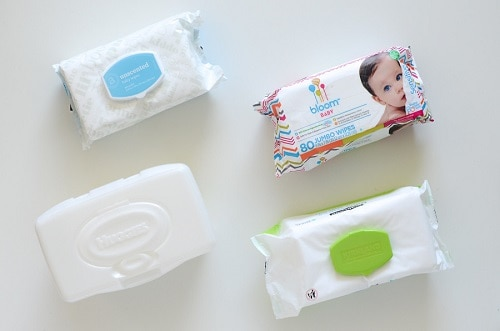 Baby wipes.