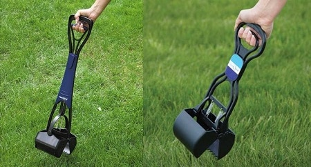 Dog poop scooper.
