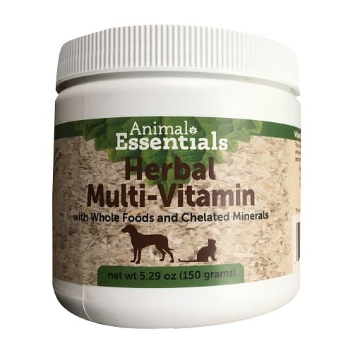 Dog vitamin and supplement example.
