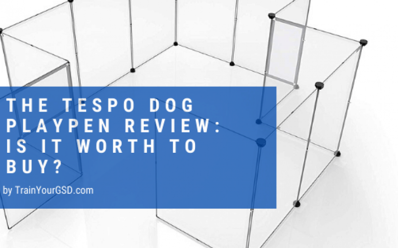 tespo dog playpen review